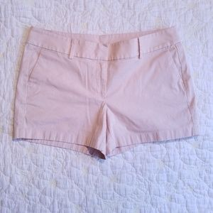 Ann Taylor Blush Pink City Shorts